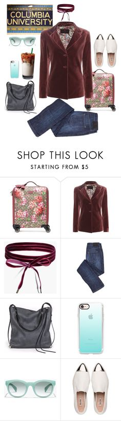 """Columbia Scholastic Press Association Conference 2016"" by queencharlotte1 ❤ liked on Polyvore featuring Columbia, Gucci, Etro, Boohoo, Ina Kent, Casetify, J.Crew, Miu Miu, preppy and NYC"