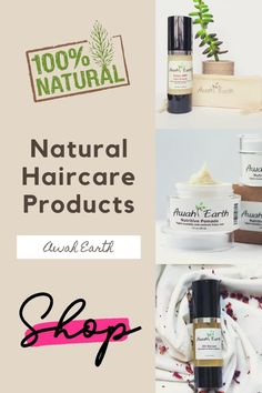 Awah Earth's natural hair care products are different. In addition to providing cosmetic benefits and keeping the scalp and hair healthy, Awah Earth's products also heal