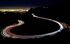 South Mountain at Night, via Flickr.