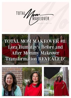 I love seeing before and after makeover transformations! Lora Bumatay shares her life as a working mom and Assistant Principal on this week's Total Mom Makeover series! Check out Lora's stunning before and after mommy makeover transformation on Total Mom Makeover. Total Mom Makeover airs every Thurs at 8/7pm CST on The It Mom social media channels.