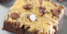 Crock Pot Peanut Butter and Chocolate Brownies