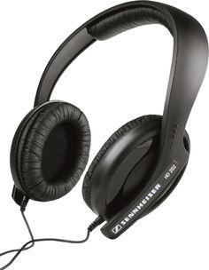 Sennheiser HD 202 Supra-Aural Hi-Fi Stereo Professional Headphones