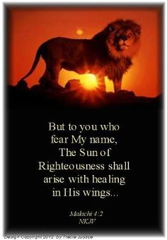 Malachi But to you who fear My name, the sun of Righteousness shall arise with healing in His wings. Favorite Bible Verses, Bible Verses Quotes, Scripture Verses, Faith Quotes, Bible Promises, Gods Promises, Christian Faith, Christian Quotes, Book Of Malachi