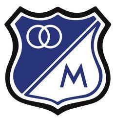 Millionarios of Colombia crest. Atari Logo, Fifa, Football, Soccer, Stencil Art, Crests, 5th Birthday, Badge, Adoption