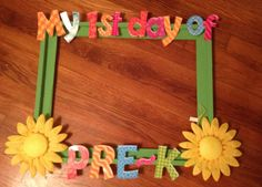 Can I get this done before Monday??? First day of pre-k frame:) perfect!