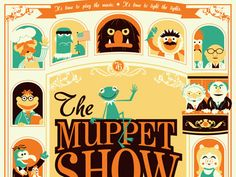 Muppets-- best purchase I've made in a long time is the DVD of season 1 of the show.  Good times and happy memories!  Sort of scary how much I remember from the show.