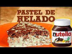 ▶ PASTEL DE HELADO CON NUTELLA FÁCIL   MUSAS - YouTube