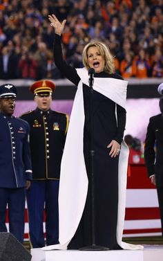 Renee Fleming ~ The best version of our National Anthem I have ever heard.  Simply beautiful