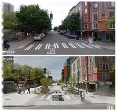 Bell Street, Seattle, WA, USA