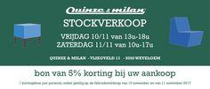 Stocksale Quinze & Milan -- Wevelgem -- 10/11-11/11