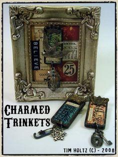 Tim Holtz Charmed Trinkets