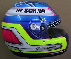 Arai Kart Helmet Design #163 ~ Hand Painted Helmets - Design your helmet today..!!