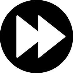 Fast forward button free icon