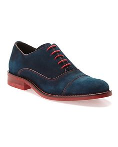"""Some of you have to get in on this: Donald J Pliner """"Ember"""" Suede Oxford"""