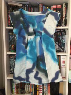 Robe bain de soleil Colette Patterns #sewing Sewing Projects, Diy Projects, Colette, Tie Dye, Tops, Women, Fashion, Women's Sun Dresses, Moda