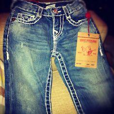 True Religion toddler boys pants