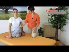 Protažení hýžďového svalu v sedu - YouTube Dance, Sport, Health, Fitness, Youtube, Diet, Dancing, Deporte, Health Care