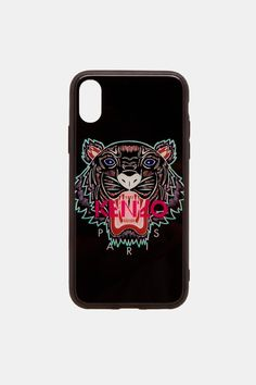 Coque iPhone IPHONE X Kenzo Tigre Etui Housse Bumper Apple IPhone IPHONE X Coque Camouflage