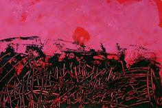 les petites têtes de l'art: Paysage flamboyant d'après Max Ernst