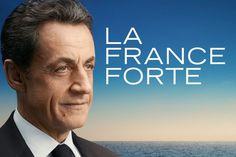L'affiche de campagne de Nicolas Sarkozy pour la campagne 2012.