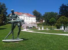 Tivoli Park, a lesser known attraction of Ljubljana, Slovenia