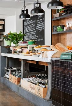 Restaurant: Threefold in Melbourne, Victoria, Australia ~ The Threefold concept is part food shop, part cafe & bar, serving breakfast and lunch ~ YuM!