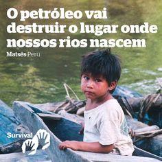 Junte-se ao nosso PROTESTO VIRTUAL: Escreva no mural dessa petrolífera canadense https://www.facebook.com/PacificRubiales/?fref=ts. Por favor escreva: 'Estou me juntando à Survival International e pedindo que a Pacific E&P saia do parque nacional da Serra do Divisor. Essa terra é o lar de indígenas isolados e a exploração de petróleo pode exterminá-los. Todas as tribos isoladas enfrentam uma catástrofe, a não ser que suas terras sejam protegidas.'  Você também pode compartilhar essa imagem…