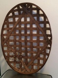 Oval Tobacco Baskets by OneOfAKindBaskets on Etsy