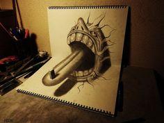 3D Sketches by Nagai Hideyuki