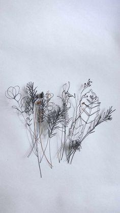Hello Novembre, Sculptures Sur Fil, Stylo 3d, Art Fil, Willow Weaving, Wire Flowers, 3d Pen, Star Flower, Motif Floral