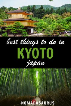 With this ultimate guide of the best things to do in Kyoto, Japan, you won't miss out on any of the top attractions! Enjoy this article on what to do in Kyoto. Travel Advice, Travel Guides, Travel Tips, Travel Photos, Asia Travel, Japan Travel, Explore Travel, Kyoto Japan, Ultimate Travel