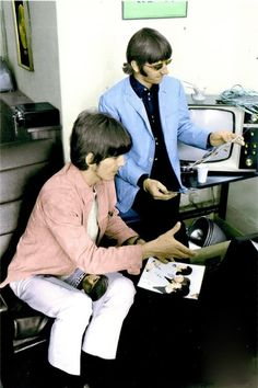 Ted Turner gets his hands on Beatles black and whites.