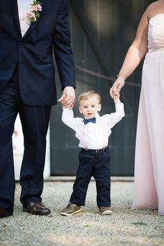 Prepare yourselves, because this precious ring bearer is going to completely melt your heart, and that's just the start. Then there's the beautiful Bride's Sister's sister-in-law flower girl and the donation toJimmy V Foundation for Cancer Research in honor of the Groom's late mother in lieu of favors—not to mention all the pretty pink details. […]