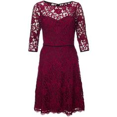 Adrianna Papell Sweetheart Fit Flare Dress, Claret (300 BAM) ❤ liked on Polyvore featuring dresses, holiday dresses, evening maxi dresses, sheer maxi dress, fit & flare dress e see through dress