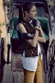Pallavi Singh - Harper's Bazaar India January/February 2014  photos by Colston Julian  styled by Krishna Mukhi