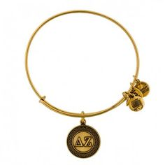 Delta Zeta Charm Bangle! Love Alex and Ani bracelets.