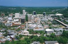 Greenville, SC--where I met Kris, married him, had our children and love to go back to visit my family and our friends!