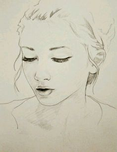 #girl, #art, #drawing