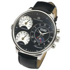 Kings and Queens KQ4003 Mens Large Wrist Watch Black Dial 55 mm Automatic Mec... Kings And Queens. $199.00. Sophisticated German Design - Limited Edition. Power Reserve 38 hours. Temperature and Humidity display. Automatic movement with 35 jewels (self winding). Case Diameter - 55mm (2.17 inches). Save 39%!