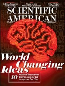 December 2012 Scientific American Magazine: Top 10 world-changing ideas in 2012. Check out MechE post-doc Anurag Bajpayee's entry.