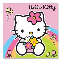 Hello Kitty Rainbow Birthday Card - Party Supplies - Party Ark
