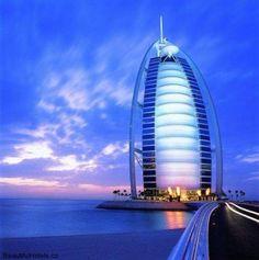 Accommodation at Luxury Hotel Burj Al Arab Hotel (Dubai, United Arab Emirates) http://beautifulhotels.co