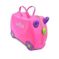 Trunki Ride On Suitcase Kids Wheeled Luggage Kids Pull Along Suitcase Trunki New #TrunkiRideOnSuitcase