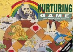The brightly colored game board portrays the diversity of the natural world where everyone and everything is accepted.