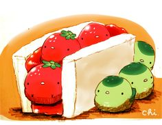 """March 13 is """"Sandwich Day"""" in Japan. It is a kind of pun as two sandwich 1 (""""ichi"""") in What is your go-to sand. Art Kawaii, Kawaii Doodles, Cute Kawaii Drawings, Kawaii Chibi, Cute Animal Drawings, Food Poster Design, Food Design, Sandwich Day, Chibi Food"""