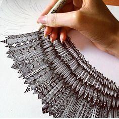 Drawing art doodles zentangle patterns 31 Ideas for 2019 Doodle Art, Zen Doodle, Doodle Drawings, Zentangle Drawings, Doodles Zentangles, Zentangle Patterns, Art Patterns, Doodle Inspiration, Creative Inspiration