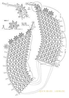[손뜨개 무료도안] 코바늘 레이스 케이프 만들기 심플한 목티나 라운드티에 코디하면 정말 예쁠 것 같아요.... Crochet Collar Pattern, Crochet Lace Collar, Crochet Diagram, Crochet Poncho, Crochet Chart, Crochet Trim, Irish Crochet, Crochet Motif, Crochet Patterns