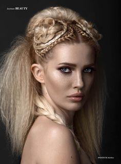 Reckless - Photographer & Retoucher Nina Masic-Lizdek Model Brigita Cavar MUA Sanjin Egon Hair Amra Bilic Production Assistant Goran Lizdek