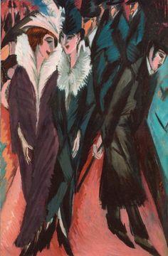 The Street 1913 Ernst Ludwig Kirchner