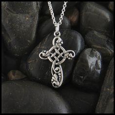 Ivy Cross Pendant